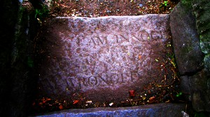 "Salem Witch Memorial - ""I Am Innocent; I Am Wronged"""