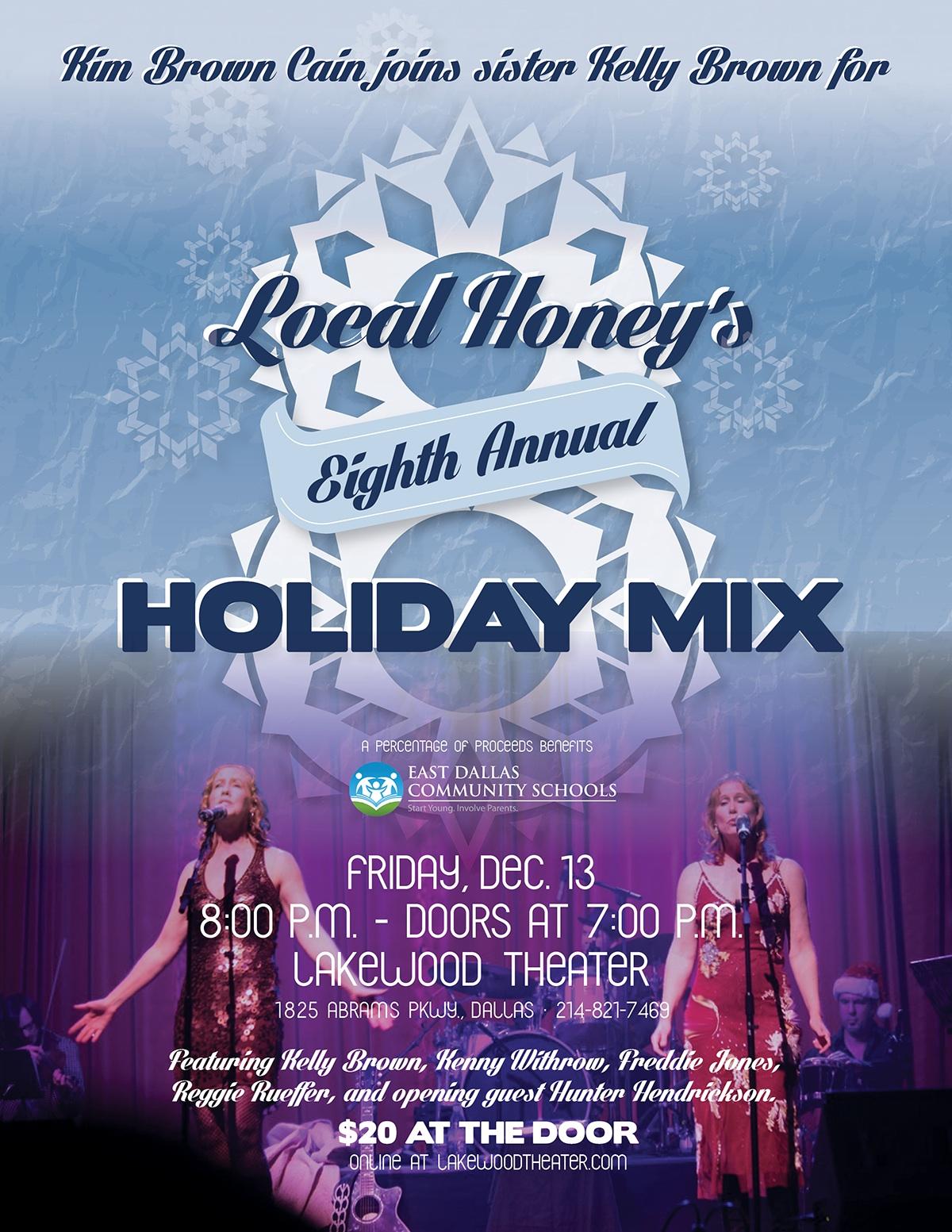 Local Honey Holiday Mix